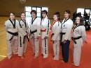 equipe technique pays de la loire taekwondo poomse avec alexia carduner amelie bardin inter ligue 2015