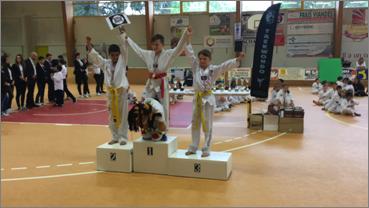 2nd Critérium La Garnache 2016 Alen 2ème Combat