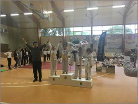 2nd Critérium La Garnache 2016 Dakota 1ère Plastron