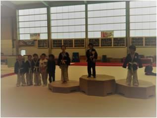 Challenge Hapkido Héliaz 4ème en 8-10 ans