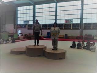 Challenge Hapkido Maria 2nde en 18 ans et plus
