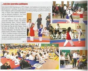 Apparition dans Taekwondo Choc de Janvier 2017