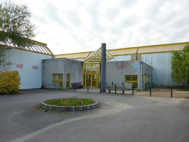 Extérieur gymnase du Croissant, Nantes