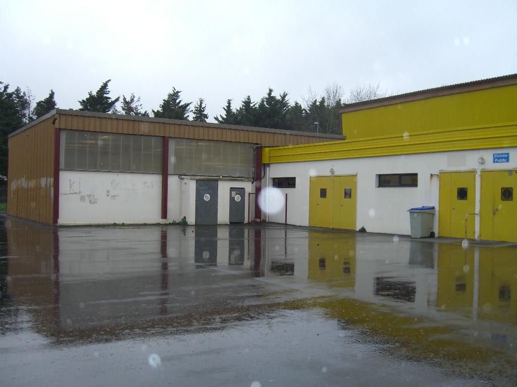 Extérieur gymnase de la Noë Lambert, Nantes