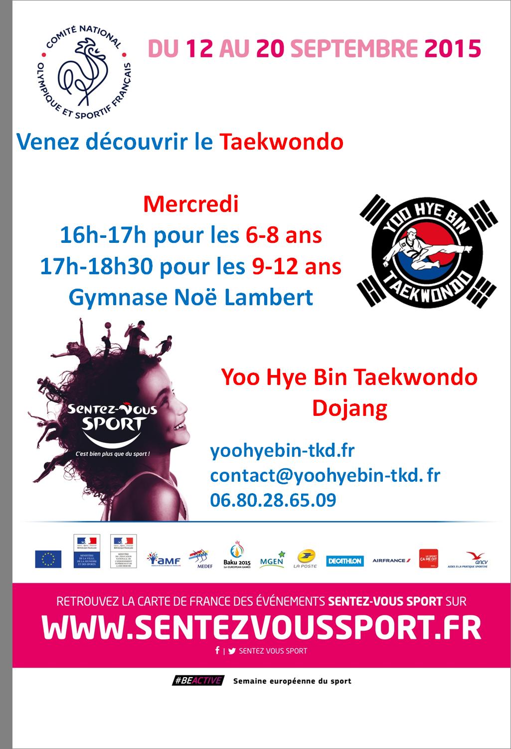 Sentez-vous Sport enfants 2015