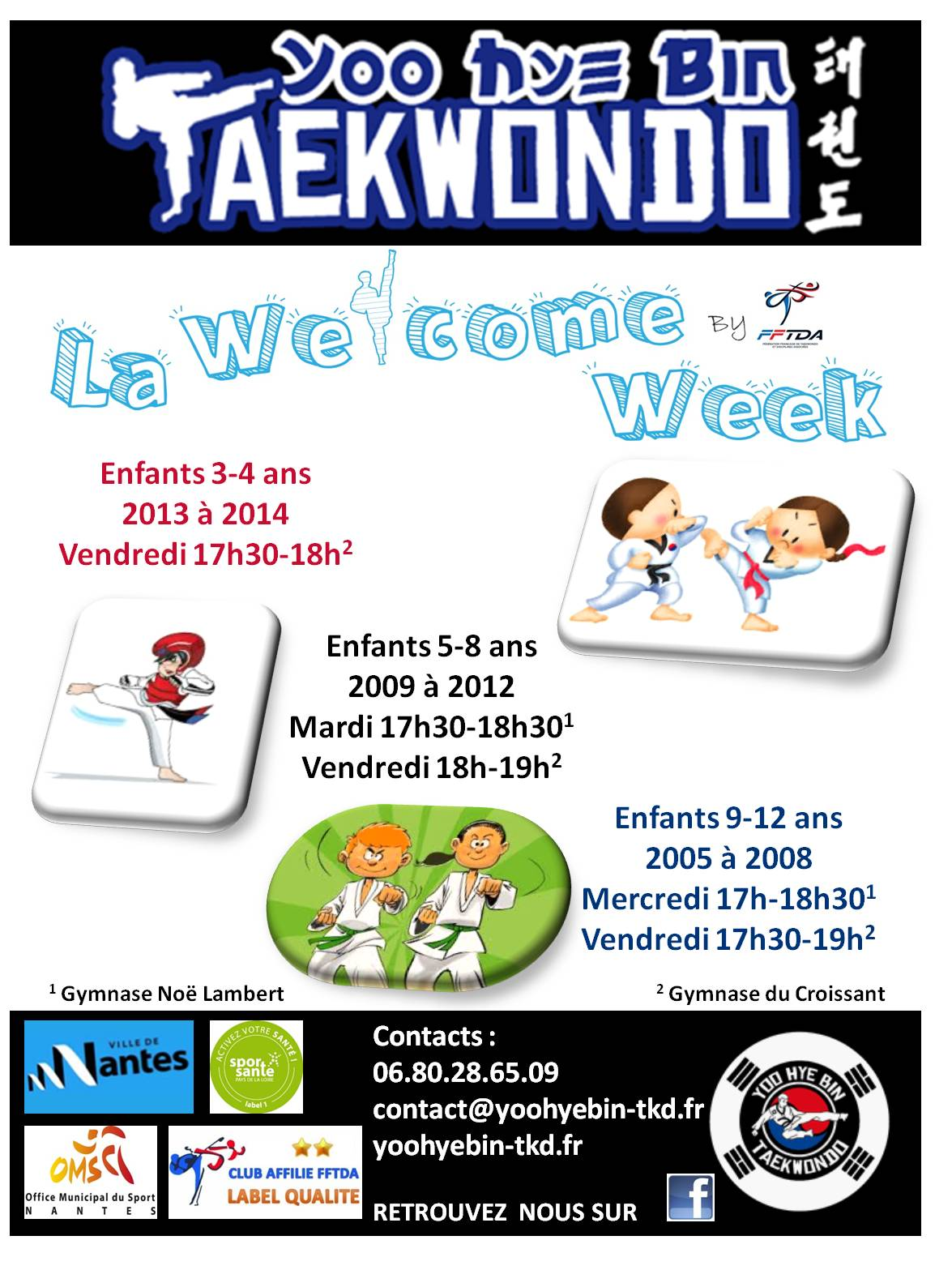 Welcome Week enfants 2016