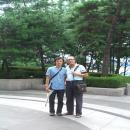 yoo hye bin avec maitre lee moon ho en coree