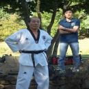 tchuseok avec yoo hye bin et maitre lee moon ho